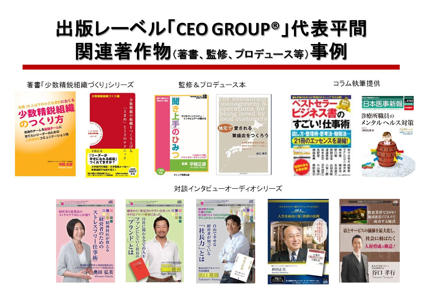 ceo group 関連著作物
